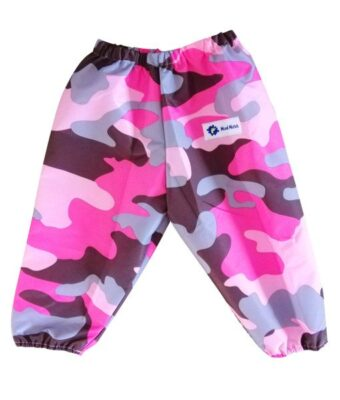 Pink Camo Waterproof Childrens Overpants