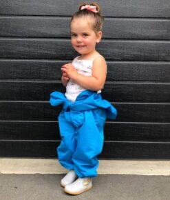 Turquoise Children's Coveralls - Proudly handcrafted in NZ