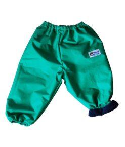 Green Fleece Lined Overpants