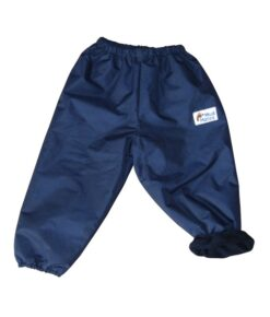 Navy Fleece Lined Overpants