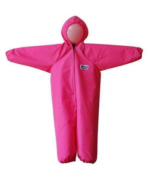 Pink Children's Coveralls