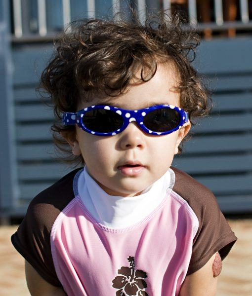 Kids Sunglasses - Blue Dot