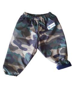 Camo Fleece Lined Snow Pants