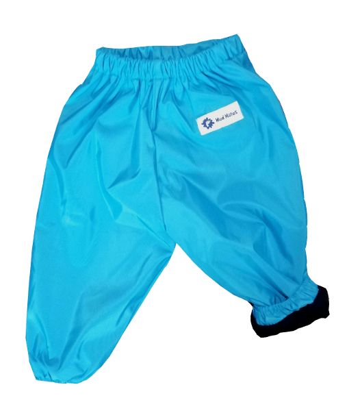 Turquoise Kids Waterproof Snow & Ski Pants / Fleece Lined Overpants
