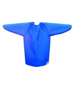 NZ-Made Royal Blue Childrens Long Sleeve Bibs