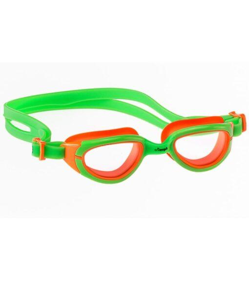 Green/Orange Funkies Kids Goggles