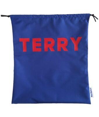Blue Waterproof Personalised Kids Swim Bags / Wet Bags