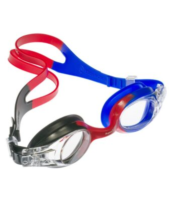Black/Red/Blue Rainbow Kids Goggles for Under 5s