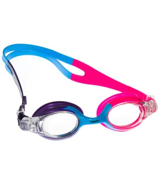 Purple/Blue/Pink Rainbow Kids Goggles for Under 5s